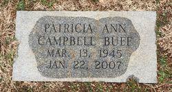 Patricia Ann <I>Campbell</I> Buff