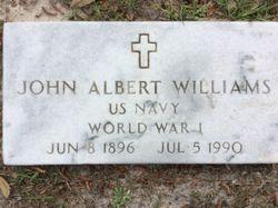 John Albert Williams, Sr