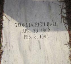 Georgia <I>Rich</I> Hall