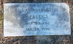 Edna <I>Arrington</I> Scruggs