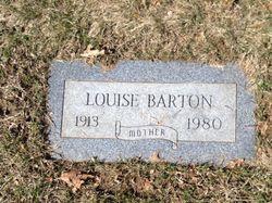 Louise <I>Fitzgerald</I> Barton