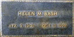 Helen M Bash