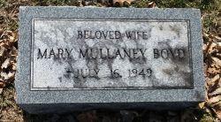 Mary <I>Mullaney</I> Boyd