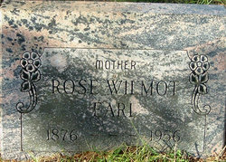 Rose <I>Wilmot</I> Earle
