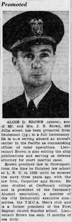 Algie Dee Brown