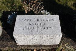 Anne L. <I>Bracken</I> Knight