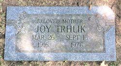 Joy <I>Baum</I> Trhlik