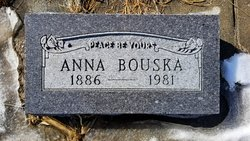Anna <I>Sedlacek</I> Bouska