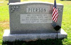 Pvt Raymond William Pierson