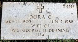Dora C Dehning