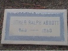 Luther Ralph Abbott