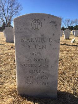 Marvin D Allen