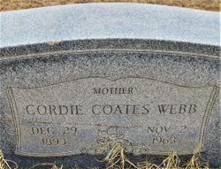 Cordie Lorena <I>Coates</I> Webb