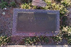 """Luther John """"L J"""" Barker"""