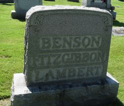 John Francis Xavier Benson
