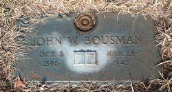 John W. Bousman