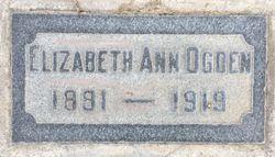 Elizabeth Ann Ogden