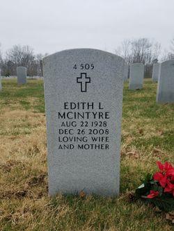 Edith L McIntyre