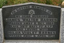 Hilda Violet <I>Hyatt</I> Barnes