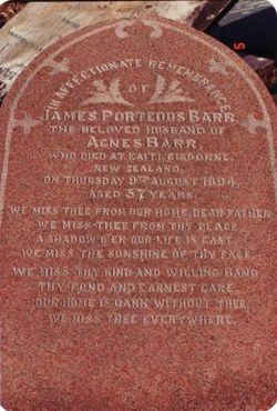 James Porteous Barr