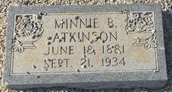 Minnie <I>Boleman</I> Atkinson