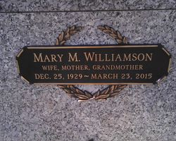 Mary Valdena <I>Milliken</I> Williamson