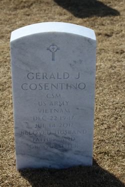 Gerald James E Cosentino (1947-2017) - Find A Grave Memorial