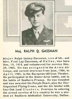 Ralph Quincy Gassman