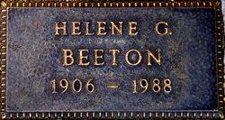 Helene G Beeton