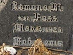 Mrs Ramona Mae <I>Foss</I> Mears