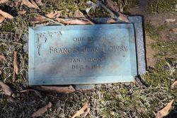 Frances Jean Lowry