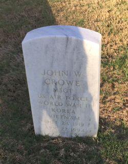 John W Crowe
