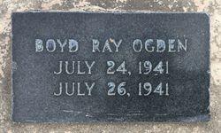 Boyd Ray Ogden