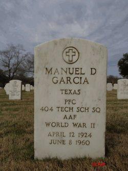 Manuel D Garcia