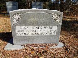 Nina Watson <I>Jones</I> Wade