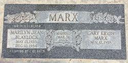 Marilyn Jean <I>Blaylock</I> Marx