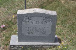 Myrtle Velma Allen