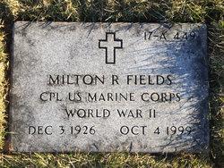 CPL Milton Roy Fields