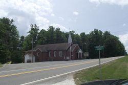 Slate Mountain Baptist Church Cemetery