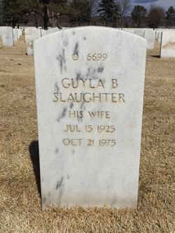Guyla B Slaughter