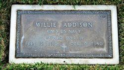 Willie Addison