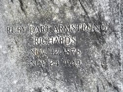 Ruby Genevieve <I>Dart</I> Armstrong