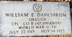 William Emil Dahlstrom