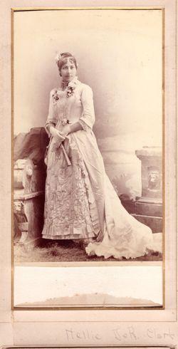 Helen Maxwell <I>DeRussy</I> Clark