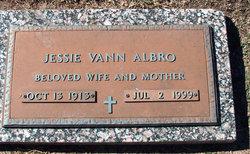 Jessie <I>Vann</I> Albro