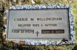 Carrie Mae Willingham