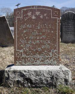 Elizabeth W. <I>Moore</I> Giles