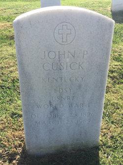 John P. Cusick