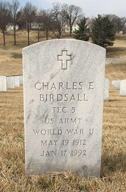 Charles E Birdsall