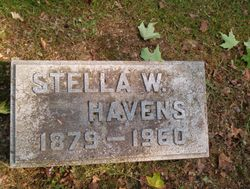 Stella M. <I>Walker</I> Havens